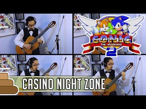 Masato Nakamura - Casino Night Zone (1P) (for Classical Guitar Quartet) [Sonic the Hedgehog 2]