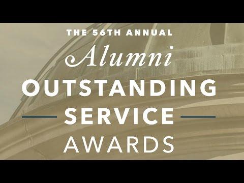 2017 Alumni Outstanding Service Awards