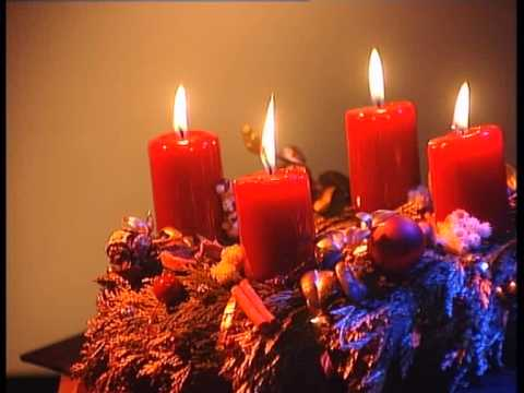 Advent candles. November 2006