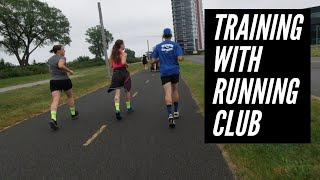 I RAN WITH TWO LOCAL RUNNING CLUBS