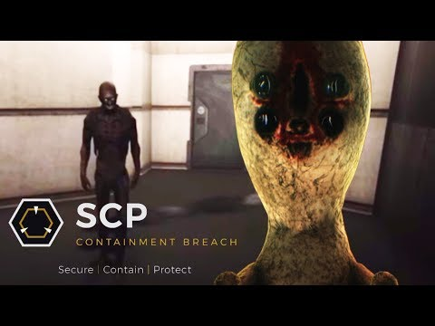 SCP: Containment Breach Unity - Freeing the Secret SCP! by CavemanFilms