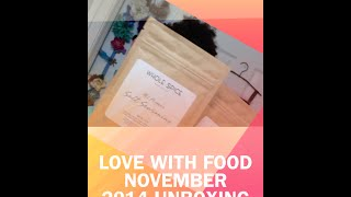 Get A FREE Love With Food Box!