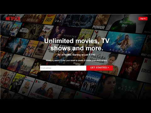 NETFLIX Clone Using HTML And CSS | Full Website