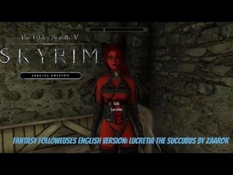 Skyrim SE Xbox One/PC Mods|Fantasy Followeuses English Version:Lucretia by  Kurtwillgame