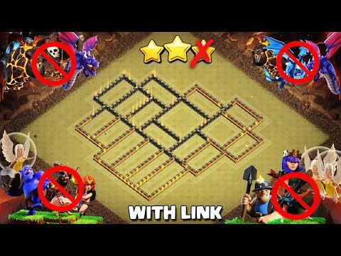 Town Hall 10 (Tested In 15 Wars) BEST WAR BASE 2019 AnTi 3 Star [AnTi All Combo] | Clash Of Clans