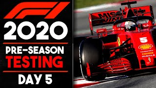 F1 2020 Winter Testing Day 5 Review!!!
