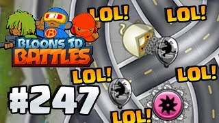 """COPY CAT """"LEGENDARY TOWERS"""" TROLL WINS! - Bloons TD Battles Gameplay Part 247"""