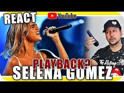 SELENA GOMEZ PLAYBACK  - Lip Sync Wolves Marshmello - Marcio Guerra Canto React Musica Reagindo