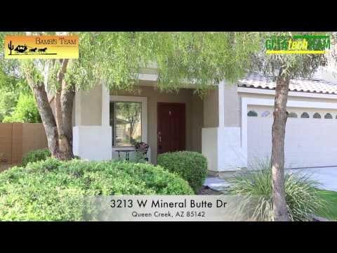 3213 W Mineral Butte Dr Queen Creek, AZ 85142