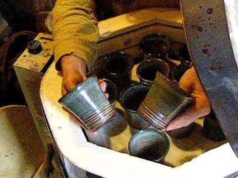 Unload kiln, stuck to shelf & 1st double bowl #013 pilot season potters journal