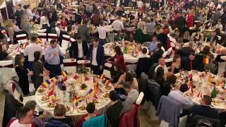 1000 de Drapele ridicate REVELION 2019 la Casa de Petrecere a Morosenilor alaturi de Dan N ...