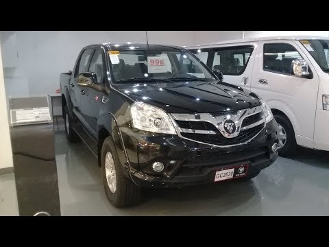 2018 Foton Thunder 2.8 (Crew-Cab) 4x2 A/T: Full Walkaround Review