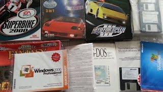 Коллекция старых ОС и игр в Big Box