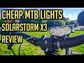 Cheap MTB Lights - Solar Storm X3 - 30,000 lumens?