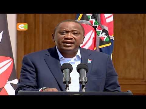 Kenyatta supports SRC new pay structure