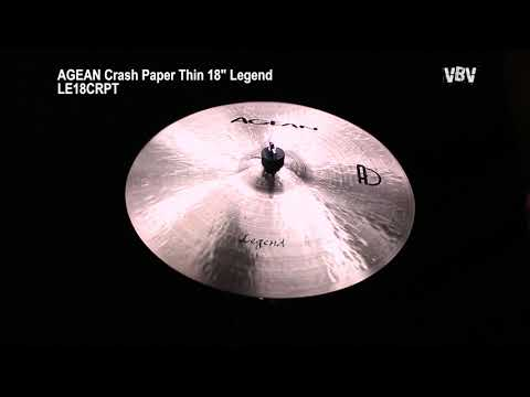 "18"" Crash Paper Thin Legend video"