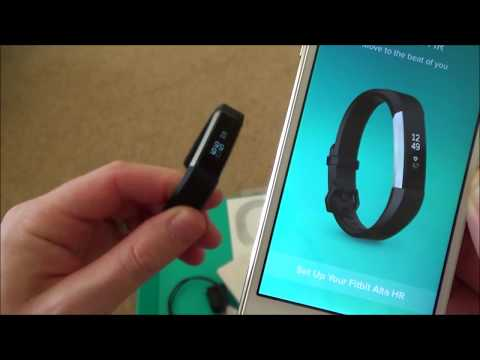 Setting Up The Fitbit Alta HR Activity Tracker On Apple IOS