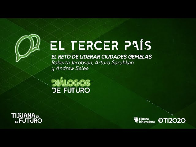 EL RETO DE LIDERAR CIUDADES GEMELAS - LIBRO ''EL TERCER PAÍS''