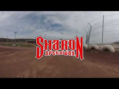 Cale Conley Sharon Speedway 360 video 4 camera angles!