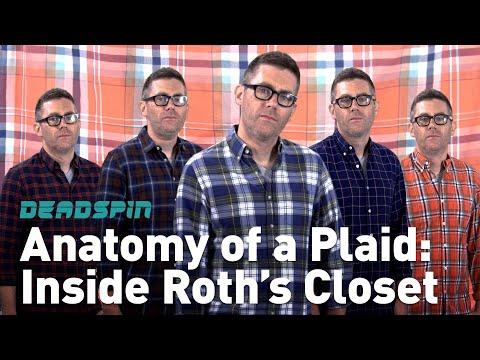 Anatomy of a Plaid: Inside Roth's Closet