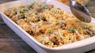 Mom's Tasty Tuna Casserole
