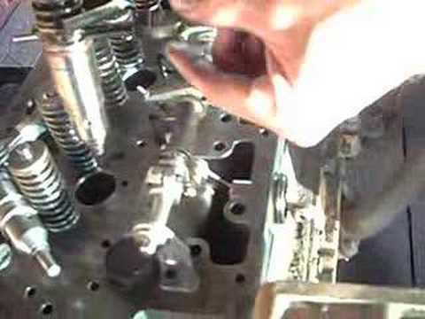 CAT 3116 Fuel Injector Adjustment #1 - YouTube