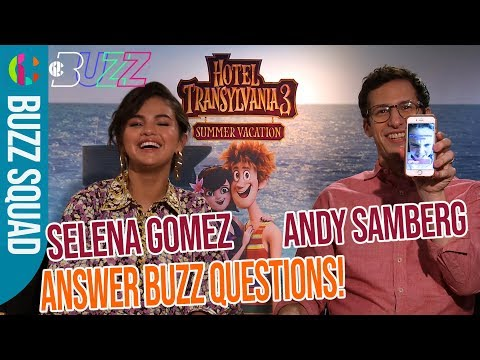 Hotel Transylvania 3 | Selena Gomez Answers Your Questions