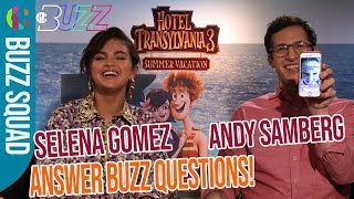 10 Second Challenge - Selena Gomez and Andy Samberg