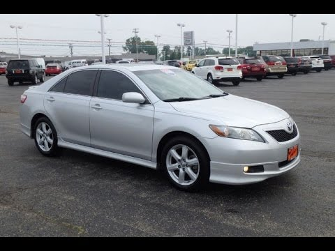 2008 toyota camry se for sale dayton troy piqua sidney ohio cp14519 youtube. Black Bedroom Furniture Sets. Home Design Ideas