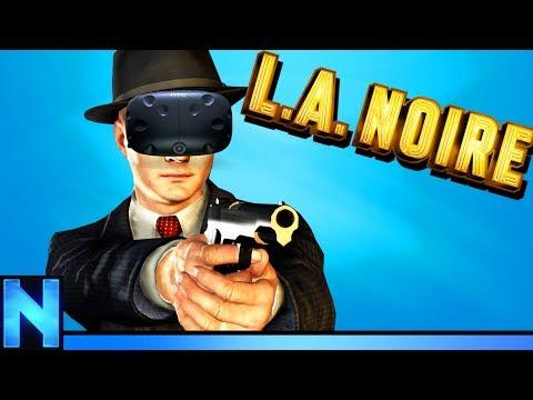 VR DETECTIVE WORK IS HARD - LA Noire