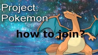 How to join the project Pokemon community group in roblox
