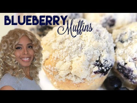 Blueberry Muffins | Easy Recipe (NEW)