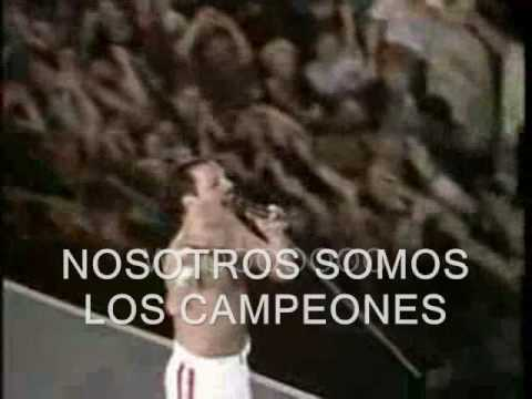 QUEEN - WE ARE THE CHAMPIONS (LIVE AT WEMBLEY86)  (SUBTITULADA)