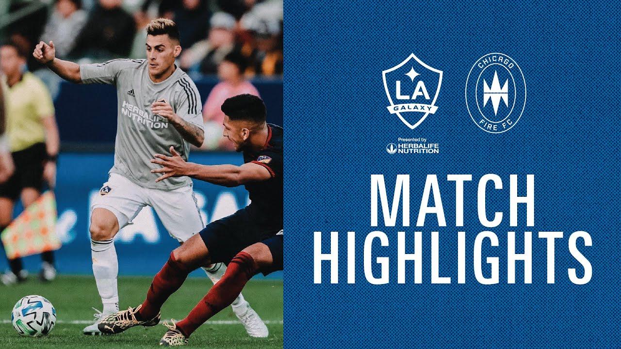 HIGHLIGHTS: LA Galaxy vs. Chicago Fire | Feb. 22, 2020