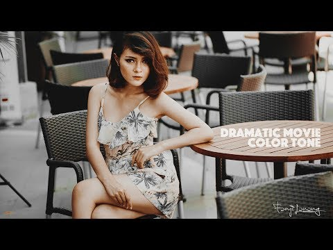 Photoshop Tutorial Dramatic Color Movie Wedding Tone thumbnail