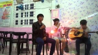 [Thanh Bùi ft Hồ Ngọc Hà] Lặng Thầm Một Tình Yêu- Guitar cover