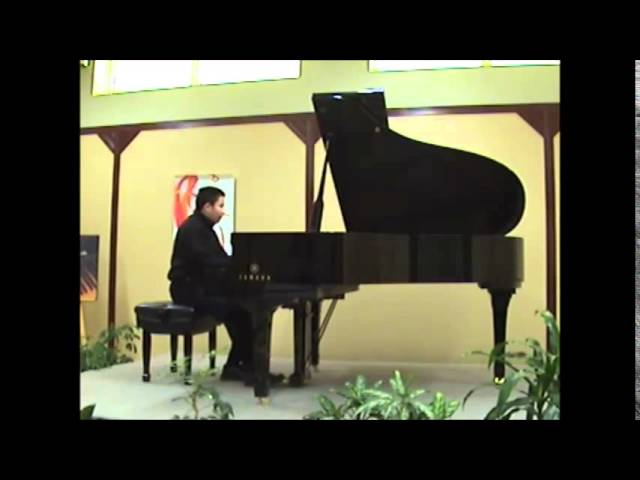 Cours de piano Montreal : Advanced:  Gershwin: prelude no 3