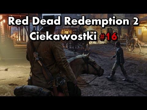 Red Dead Redemption 2 - Ciekawostki #16 - Wiedźma, tajemnica w Blackwater, Strange Man i nie tylko