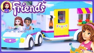 Lego Friends Summer Caravan Build Review Silly Play - Kids Toys