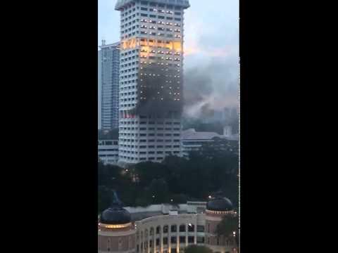 Bukit Aman terbakar!!!