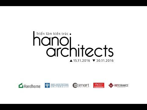 Triển lãm kiến trúc Hanoi Architects 2016