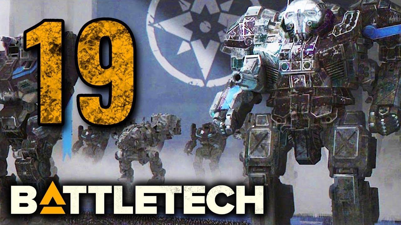 LIBERATION OF PANZYR - 19 Battletech 2019 Campaign Playthrough - TTB