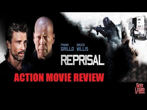 REPRISAL (  2018 Bruce Willis ) Bank Heist Action Movie Review