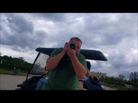 A golf cart tour of the Gardens at Versailles