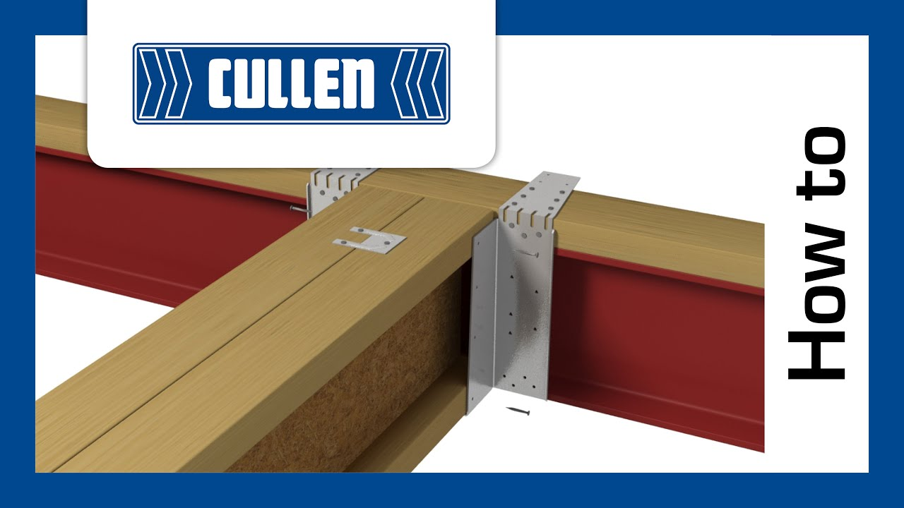 How To Install A Huh To Steel Beam With Packer On Top I