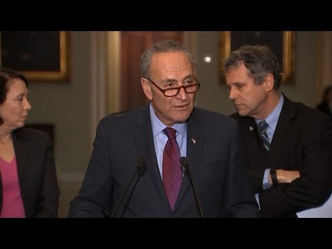 Sen. Schumer Calls on Democrats to Boycott Neil Gorsuch Vote While Trump is Under FBI Investigation