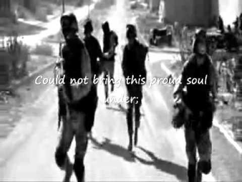 The Minstrel Boy - Joe Strummer (with lyrics) - Soundtrack Black Hawk Down