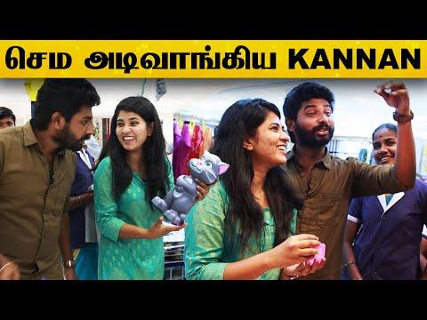 Shopping வந்த இடத்தில Deepika-வுடன் Kannan சண்டை.! | Velavan Stores | Chennai | Vijay TV | Aishwarya