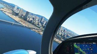 서울 상공 비행 (시뮬)