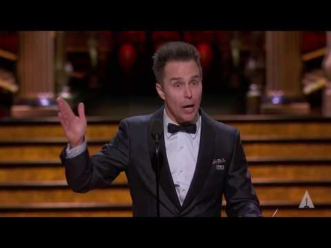 Sam Rockwell wins Best Supporting Actor